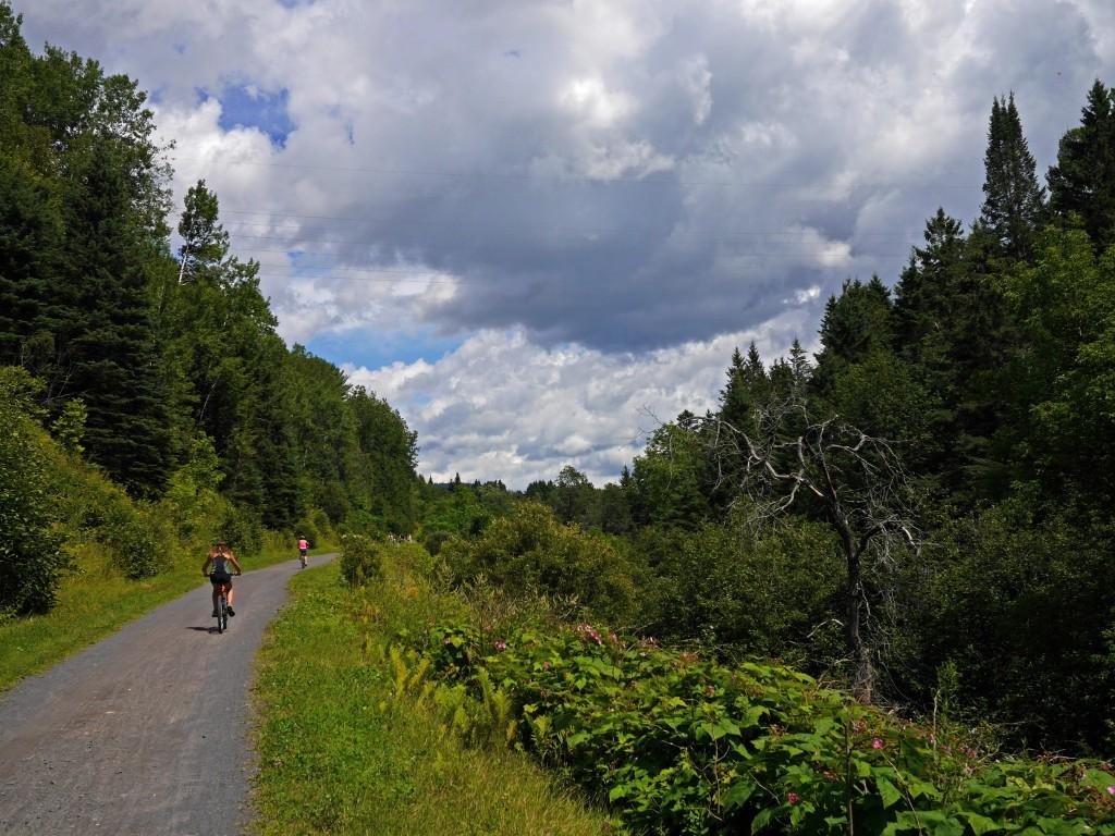велосипедная дорога у монреаля